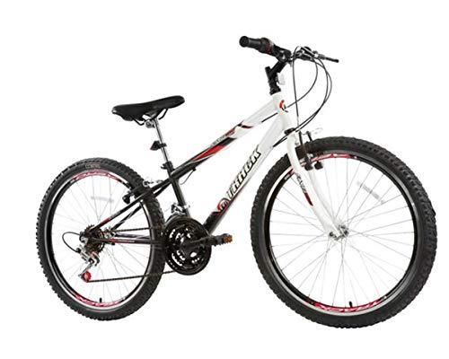 Bicicleta Aro 24 Axess Branca e Preta 21v Aero, Track Bikes