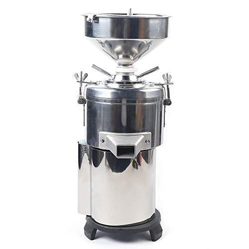 Peanut Butter Machine, 110V 2800r/min Commercial Peanut Butter Maker 15kg/h Electric Sesame Butter Grinding Machine for Peanut Nut Walnut Sesame Sauce