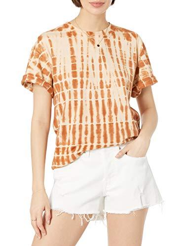 The Drop Lydia T-shirt pour Femme, Coupe Ample, à Manches Courtes et Épaules Tombantes, en Jersey