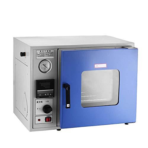 BananaB 23L PROFI Vakuumofen Trockenofen 0.9 Cu Ft 250°C vacuum trockenschrank 450 Watt vakuumtrockenschrank Laboratory Vacuum Drying Oven (23L)