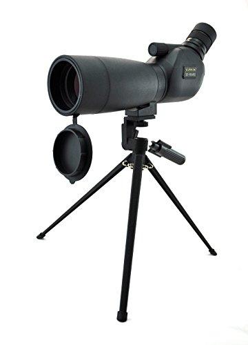 Visionking Telescopio Terrestre para 20-60x60 Telescopio Terrestre Impermeable Potente telescopio