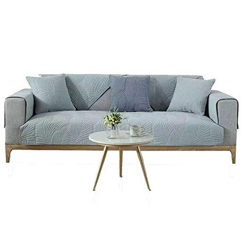 Hybad 3 zitplaatsen hoekbank bank Slipcover, Antislip stof bank kussensloop, katoen Sofa Slipcover handdoek, slijtvaste bankhoezen, settee covers voor kat hond