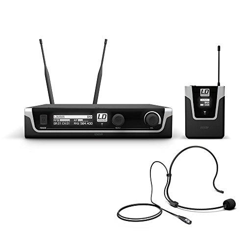 LD Systems U505 BPH - Funksystem mit Taschensender und Kondensator Headset