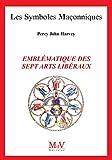 N.97 Emblématique des sept arts libéraux