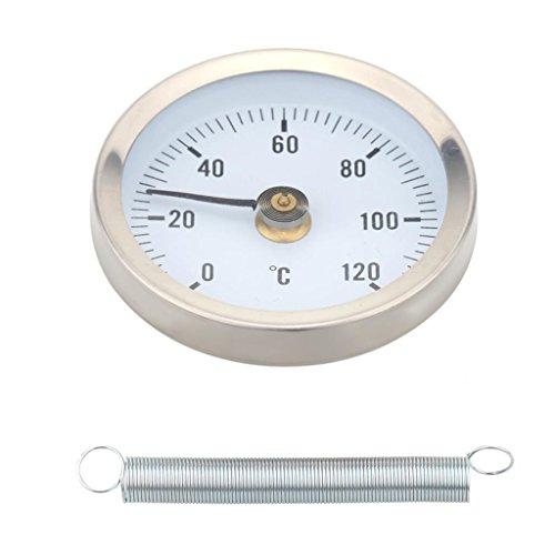 Ts W50a 0 120 Grad Bi Metall Edelstahl Oberflächenthermometer