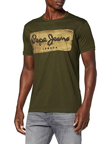 Pepe Jeans Charing Jean Droit, Verde (Bosque), XXL para Hombre