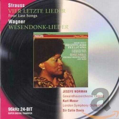 Vier letzte Lieder (R. Strauss), Wesendonk-Lieder (R. Wagner)