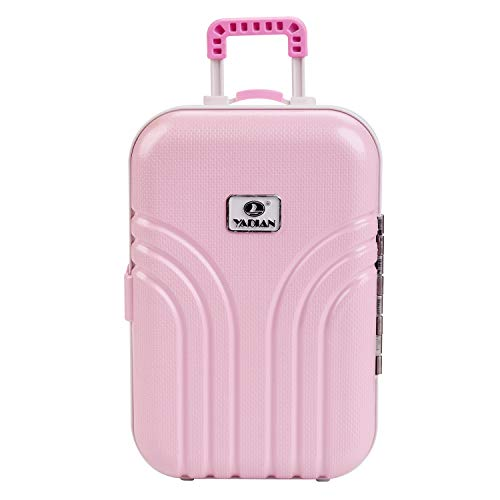 COOFIT Girl Doll Accessories, Doll Suitcase for American Doll Travel Suitcase Girl Doll Stuff Travel Suitcase Luggage for 18 Inch Doll Travel Gear