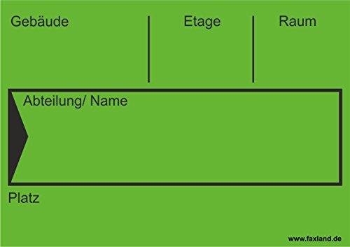 40x Umzugetiketten Nr.4, 105x74, Beschriftung mit Etiketten vom Umzugskarton für den Umzug, Umzugsetiketten, Grün thumbnail