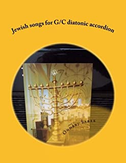 Jewish songs for G/C diatonic accordion