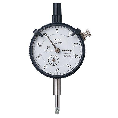 Comparatore Mitutoyo 0 - 10 mm 2046SB Serie 2, lettura: 0,01 mm...