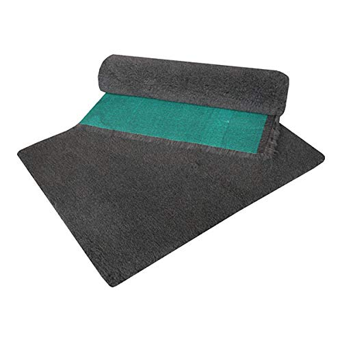 """Vetfleece Dog Bedding   Ideal for Dogs to Guinea Pigs   UK Manufacture supporting RSPCA   High Pile   24"""" x 18"""" Charcoal   Retains Heat   Non Irritant"""