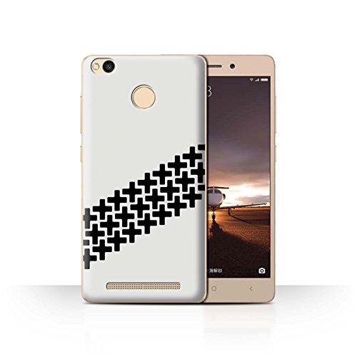 Stuff4 Phone Case/Cover/Skin/XIA-CC/Street Car Racing Collection Xiaomi Redmi 3 Pro/3S Prime Antislipsporen voor banden