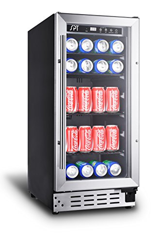 Sunpentown BC-92US 92-can Under-Counter Beverage Cooler (Commercial Grade), Gray