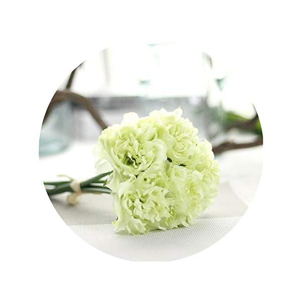 1 Bouquet 5 Head Home Decor Fake Flowers Wedding Artificial Hydrangea Silk Flower Home Wedding Party Birthday Floral Decor