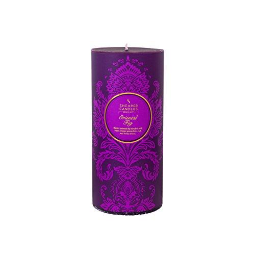 Shearer Candles SC7641 Bougie d'hiver Victorian Violet