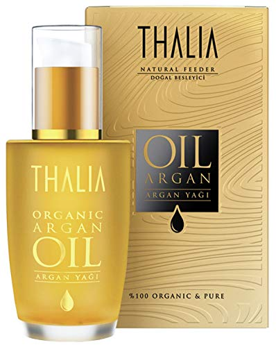 Thalia Natural Beauty - 100% Bio Arganöl 60 ml, rein und natürlich, Wundermittel der Natur