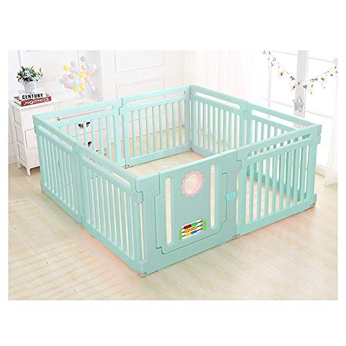 Find Bargain Z-SEAT Foldable Baby Playpen, Sturdy Game Fence, Kids Activity Center Safety Playards, ...