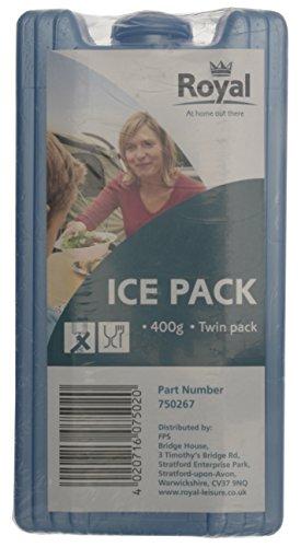 EZetil High Performance 2er-Set Kühlakkus, mit 2 x 220g Kühlelementen für die Kühltasche oder Kühlbox bei Outdooraktivitäten oder Campingausflügen, türkis
