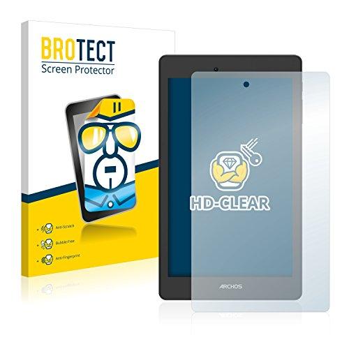 BROTECT Schutzfolie kompatibel mit Archos Oxygen 70 (2 Stück) klare Bildschirmschutz-Folie