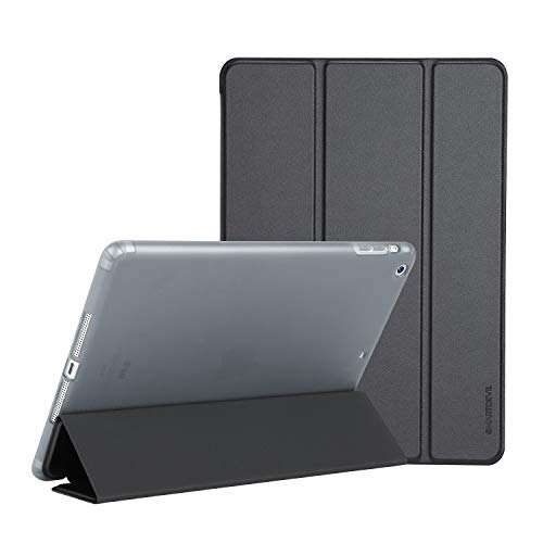 SmartDevil Case for iPad Air 1st Edition, Not for (iPad Air 2) Soft Cover, Smart Cover Automatically Wakes/Sleeps, Black