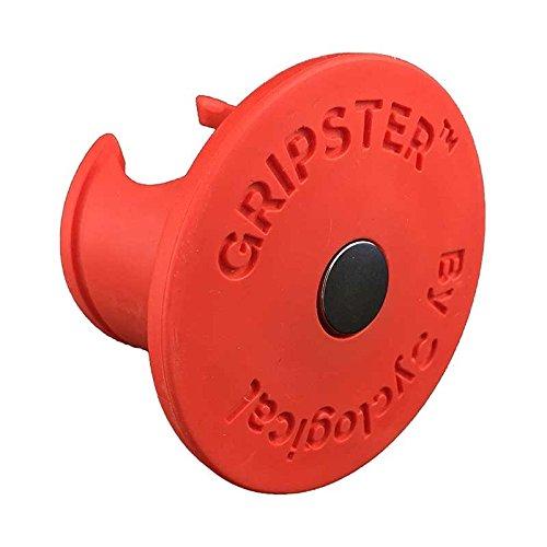 ByCyclogical Gripster rot Fahrradhalterung (magnetisch) für Räder ohne Fahrradständer