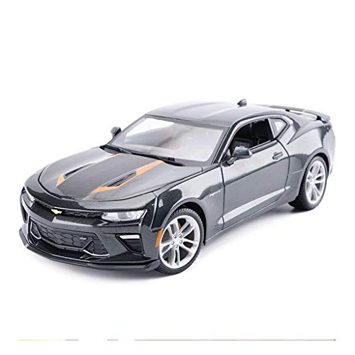 hclshops Coche Modelo de Coche de 1,18 Simulación de aleación de fundición 26x10.5x7.5CM joyería Adornos de Juguete Sports Car Collection (Color, Amarillo), Amarillo