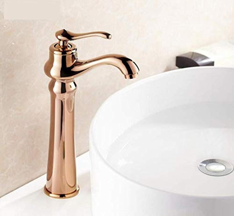 Kupfer Wasserhahn Becken Antike Kupfer Becken Wasserhahn Hei Und Kalt Waschbecken Waschbecken Wasserhahn Retro RoséGold Wasserhahn