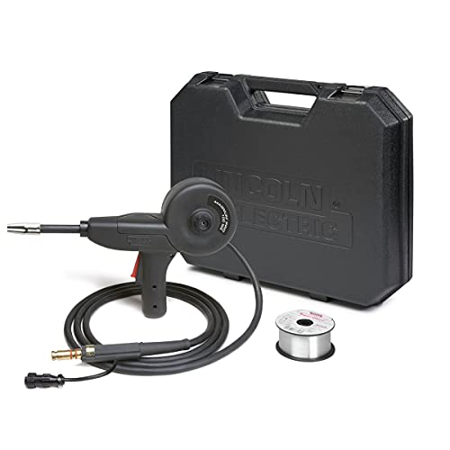 Lincoln Electric Magnum PRO 100SG Spool Gun - for Aluminum MIG Welding - 8 Pin, 10 FT Cable - K4360-1