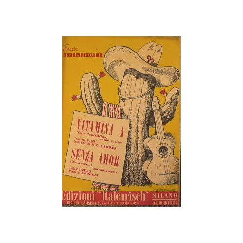 Vitamina A con penicillina ( mambo cancion ) - Senza Amor tu amor ( bolero beguine )