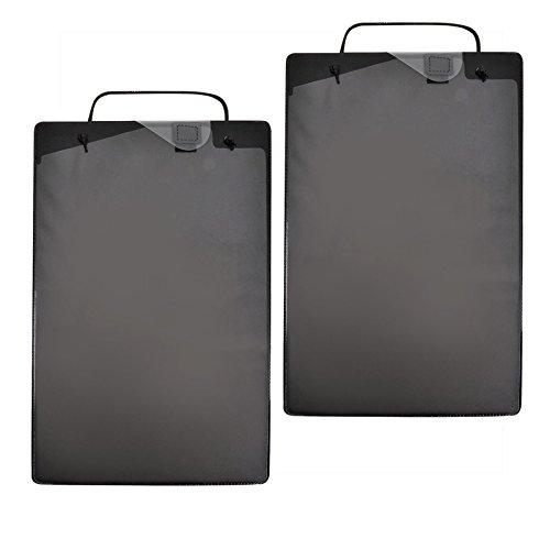 PROPLUS Werkstattauftragstaschen 2x 10er Pack Schwarz Black Schlüsselfach DIN A4 Werkstatt Auftragstaschen Taschen Auftrag Schlüssel Fach Werkstattauftrag Reparatur Mappe