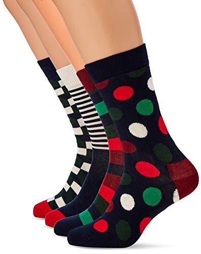 Happy Socks Damen, Mehrfarbig (Rot 4000), 41-46