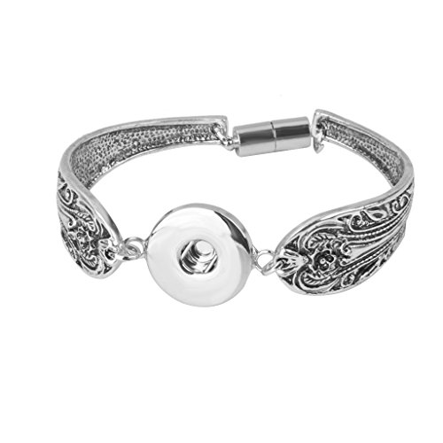 Noosa Armband Armreif Kette für Click Button BUTTON Knöpfe DRUCKKNOPF DIY
