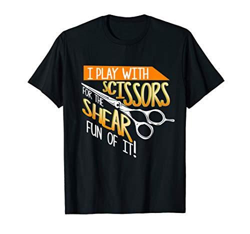 Funny Hair Dresser Stylist Salon Barber Gag Gift Saying T-Shirt