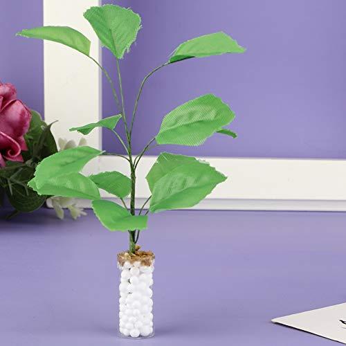 banapo DIY Puppenhaus Zubehör, 1:12 Speziell entworfen 1: 12 Mini Green Plant, Qualität Ton Material Wohnzimmer Garten Kinder für Puppenliebhaber