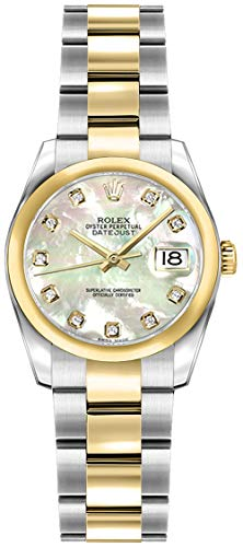 Fashion Shopping Women's Rolex Lady-Datejust 26 Diamond Mother of Pearl