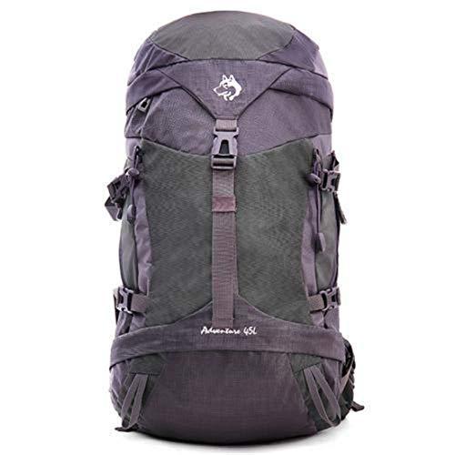 PPMM 45L Camping Hiking Backpack Internal Frame Backpack Waterproof Traveling Daypack High-Performance Backpack for Backpacking, Hiking, Camping for Women And Women,Black