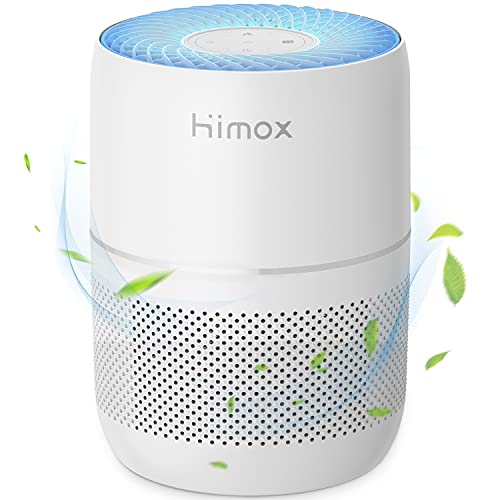 HIMOX Air Purifier for Home Large Room H13 HEPA Filter Smoke Allergies...