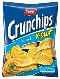 Lorenz Xcut Crunchips salados 150 g, paquete de 8