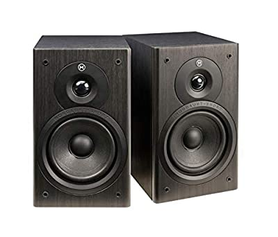 Mordaunt Short M10, Compact Bookshelf Speakers (Pair) - Black by Mordaunt-short