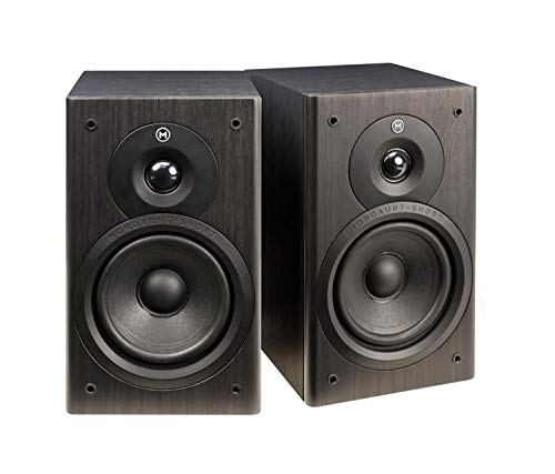 Mordaunt Short M10, Compact Bookshelf Speakers (Pair) - Black