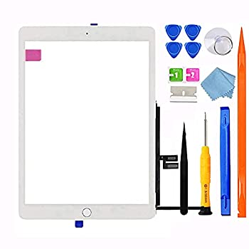 GoodFixer for iPad 7 7th/8 8th Gen Screen Replacement Digitizer 2019/2020 10.2 ,for 7th 8th Generation A2197 A2198 A2200 A2270 A2428 A2429 A2430 + Home Button Video Tips,Full Repair Kit