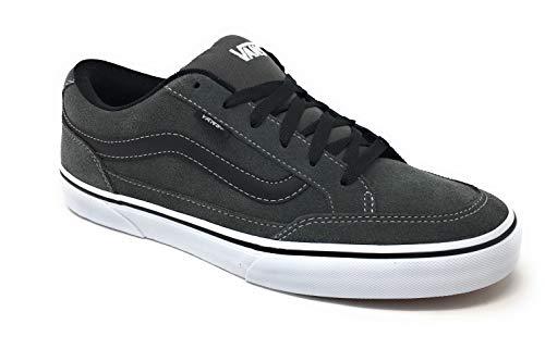 Vans Bearcat Charcoal/White/Black Men's Classic Skate Shoes Size 10.5