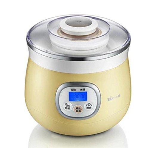 MNIICreatore di Yogurt Digitale Maker Pure Yogurt 1L capacità nominale Può essere impostato in tempo 20 ~ 30 ° C Oro automatico di controllo della temperatura