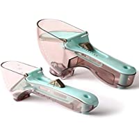 2-Pack Upaclaire Adjustable Measuring Spoons Set