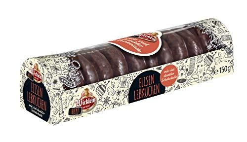 """Wicklein \""""Hey\"""" Mini Elisen-Lebkuchen mit viel dunkler Schokolade, 6er-Pack (6x150g)"""