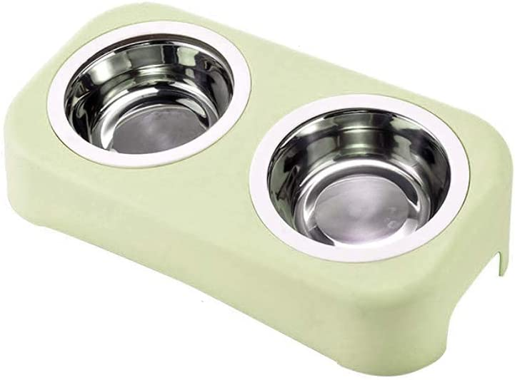 MaoTopCom Beauty products Elevated Cat Bowls Topics on TV Small Raised Double Tilted Sta 15°