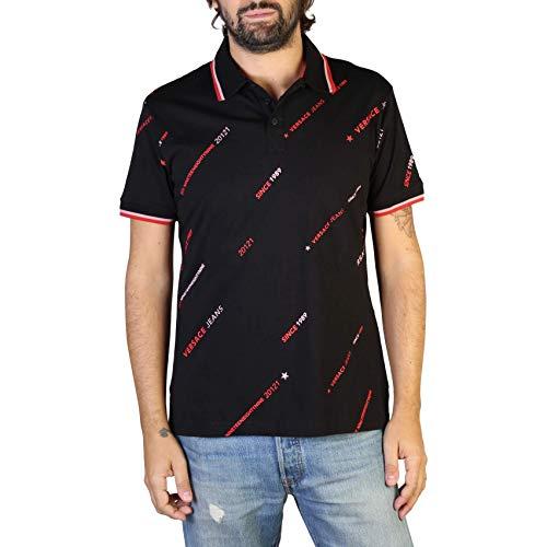Versace Jeans Polo B3GTB7P8_36610 Hombre Color: Negro Talla: 46