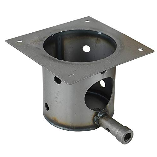 Baoblaze Stainless Steel Fire Burn Pot and Hot Rod Ignitor Replacement Part for Pit Boss, Easy to Install