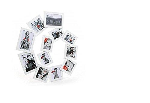 Izaneo - Pele-mele spirale 12 photos blanc
